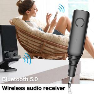 Image 3 - DISOUR Lage latency Bluetooth Ontvanger 5.0 APTX LL/AAC/SBC 3.5mm AUX RCA Audio Draadloze Adapter Voor handsFree Car Kit Zender