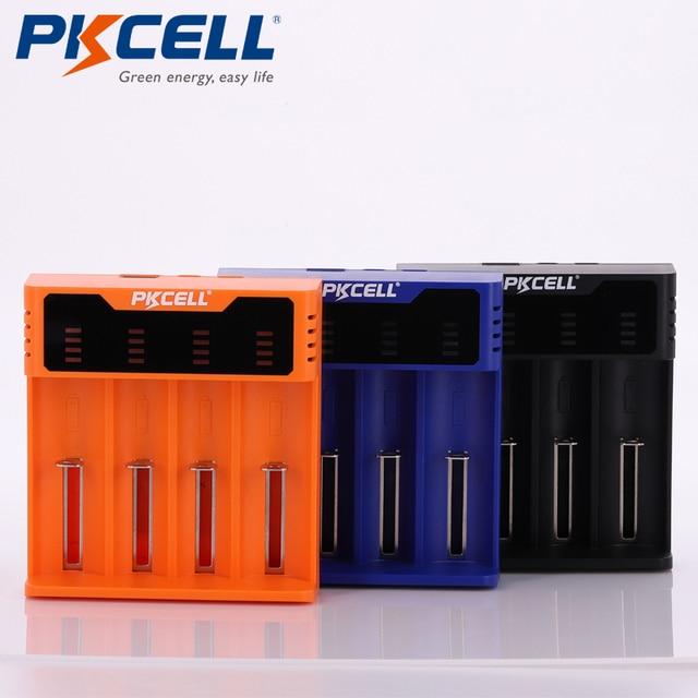 Cargador de batería inteligente PKCELL, para 1,2 V, 3,7 V, 3,2 V, AA/AAA, 26650, NiMH, 5V, 2A