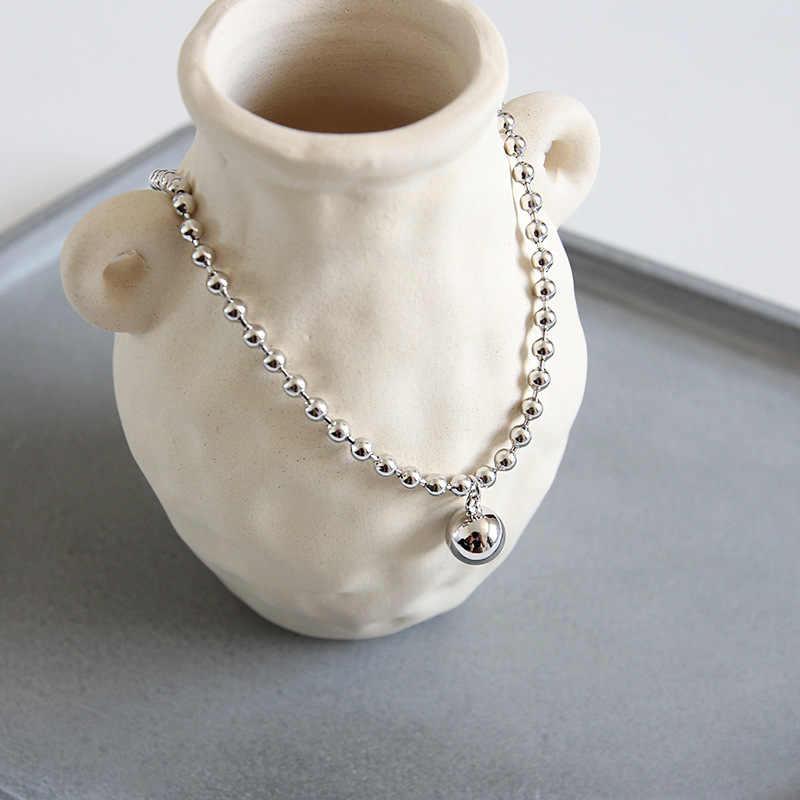 Eds tornozeleira prata 925 jóias tornozelo pulseira 925 prata esterlina pé pulseira feminina moda coreana pingente de corrente do vintage tornozelos