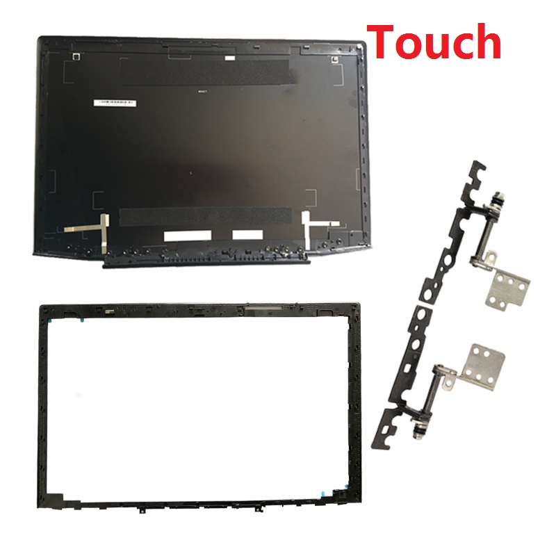 New FOR Lenovo Y50 Y50-70 Y50-70A Y50-70AS-IS Y50-80 15.6 Laptop LCD Top Cover Case/ LCD Bezel Cover/LCD Hinges L&R Touch