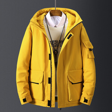 2019 Winter Long Casual Hooded Jacket Parkas Men New Outdoor Fashion Warm Down Jacket Coat Parka Men Down Coat Men new original cylinder advu16 100 p a