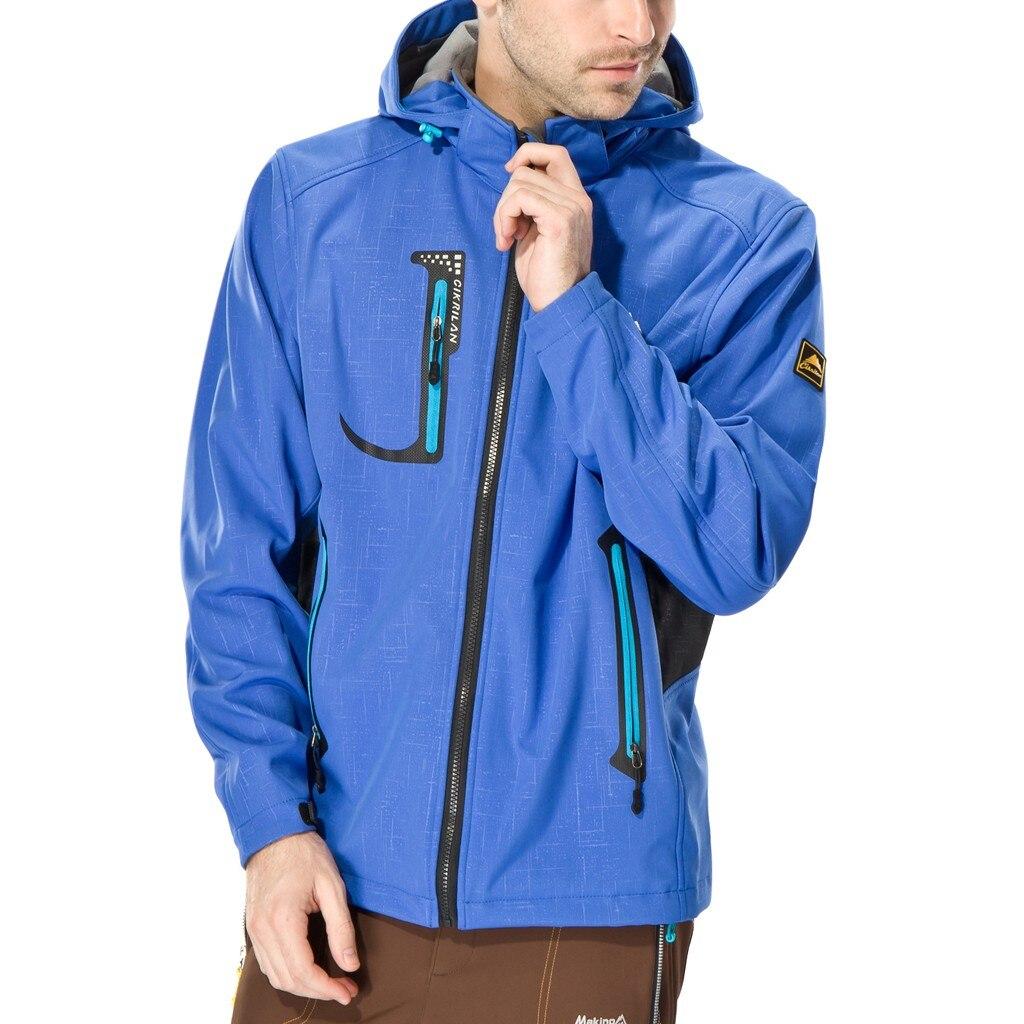 Ski à capuche escalade vêtements unisexe Camping couleur unie manteaux hommes femmes printemps extérieur imperméable randonnée veste sport Trekking