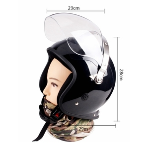Special Riot Proof Helmet Security Guard On Duty Fire Prevention Leather Neck Protection Comfortable Airy Warm Security Helmet