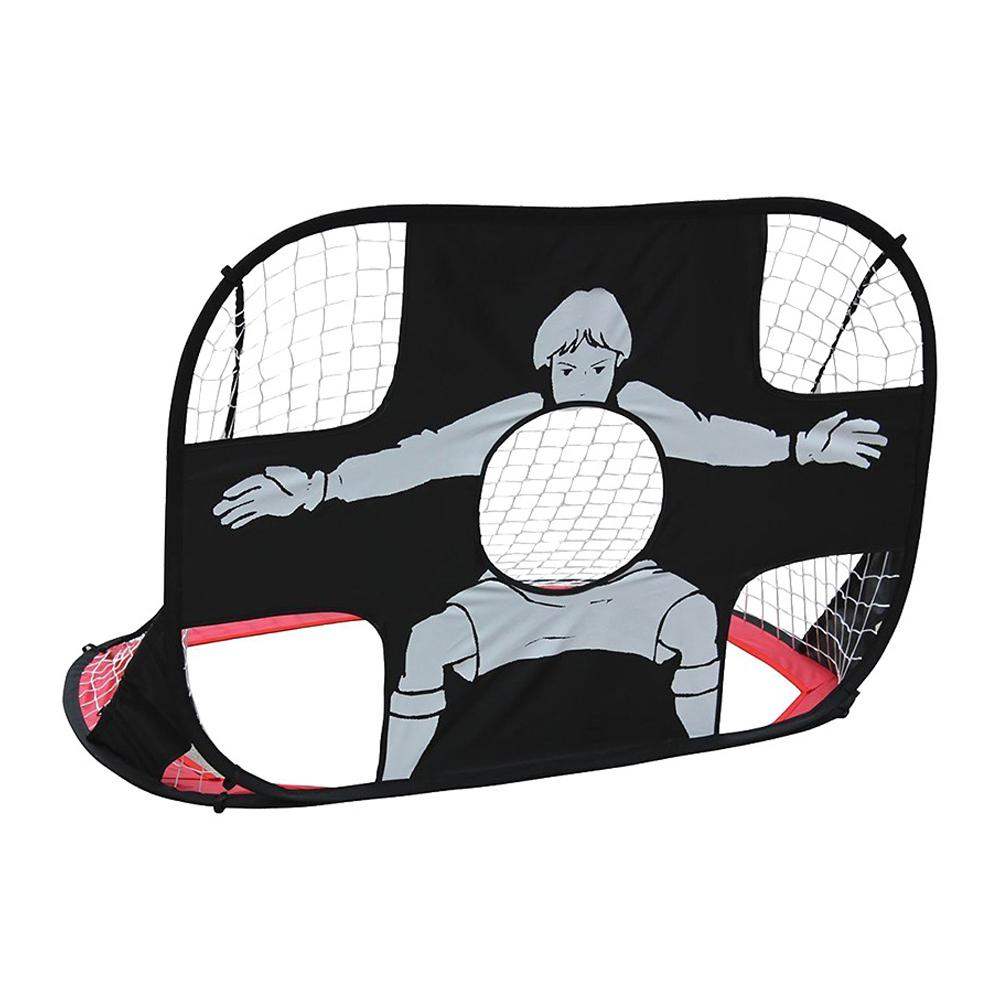 GloryStar Football Gate Multifunctional Folding Soccer Gate Portable Football Gate For Children Corrective Belt Nylon