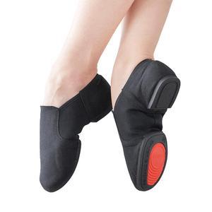 2019 мягкая ткань танцевальная джазовая обувь Балетная обувь для мужчин и женщин квадратная танцевальная обувь гимнастика фитнес обувь пару...