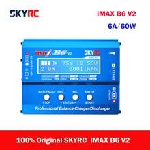 Skyrc monitorador de tensão imax b6 v2, original, 6a, 60w, equilibrador, para dji mavic tb4x, nimh, nicd, lihv, nicd pb carregador de bateria li-ion