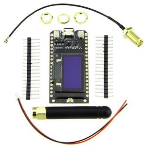 Image 3 - TTGO Módulo de ESP 32 con antena, LORA32, 868/915Mhz, ESP32, LoRa, pantalla OLED de 0,96 pulgadas, Bluetooth, WIFI, ESP32