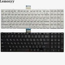 Новая русская клавиатура для ноутбука TOSHIBA SATELLITE L850 L850D P850 L855 L855D L870 L870D RU черная/белая клавиатура