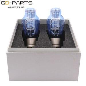 Image 2 - Вакуумные трубки PSVANE COSSOR 300B, сетчатая пластина, винтажная HIFI аудио трубка, усилитель, сделай сам, синяя лампа, алюминиевая трубка, базовая заводская, тестовая пара