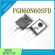 10 TEILE/LOS FGH60N60SFD FGH60N60 60N60 IGBT 600V 120A 378W ZU 247