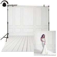 Allenjoy fondos fotográficos de pared de suelo blanco para bodas, tablones de cumpleaños, Econ, vinilo, Fondo de estudio fotográfico