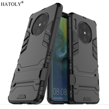 For Huawei Mate 30 Case Rubber Robot Armor Shell Hard PC Back Phone Cover for Protective