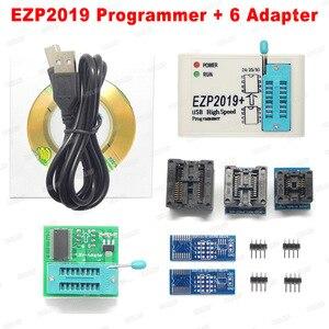 Image 3 - Factory Price! Newest Version EZP2019 High speed USB SPI Programmer Support24 25 93 EEPROM 25 Flash BIOS Chip+5 Socket