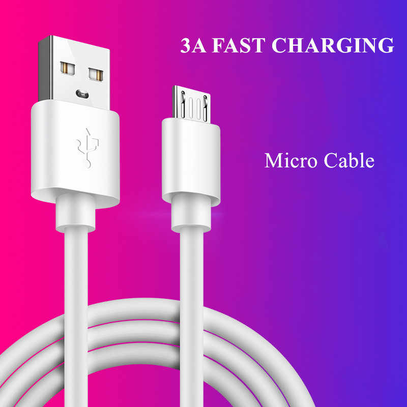 LOVECOM Micro USB Cable 3A Fast Charge USB Data Cable for Samsung Xiaomi 4X 4A 5A Note 4 HTC LG Android Phone USB Charging Cord