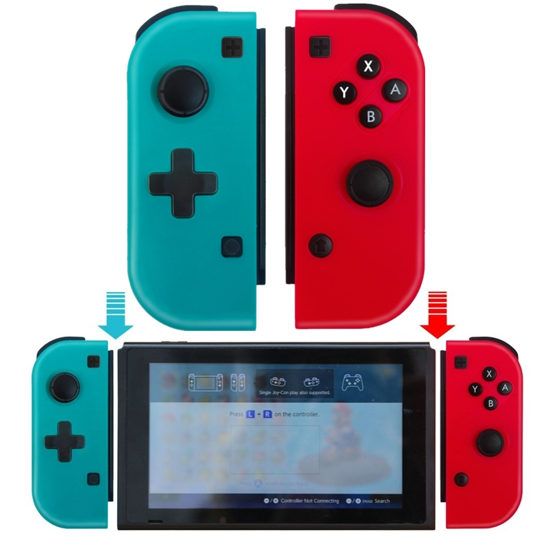 Wireless Controller for Nintend Switch Replacement Controller for Joy-con Bluetooth Gaming Gamepad Joypad Left/Right Controllers