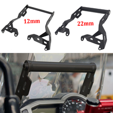 12mm / 22mm Stand For Triumph Tiger 800 XCX / XRX Motorcycle Front Phone Mount Holder Smartphone GPS Navigation Bracket Tiger800