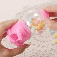 LHX Cute Mini Candy Machine Creative Bubble Gumball Machine Dispenser Coin Bank Kids Toy Children Gift Candy Dispenser HP1237 dd