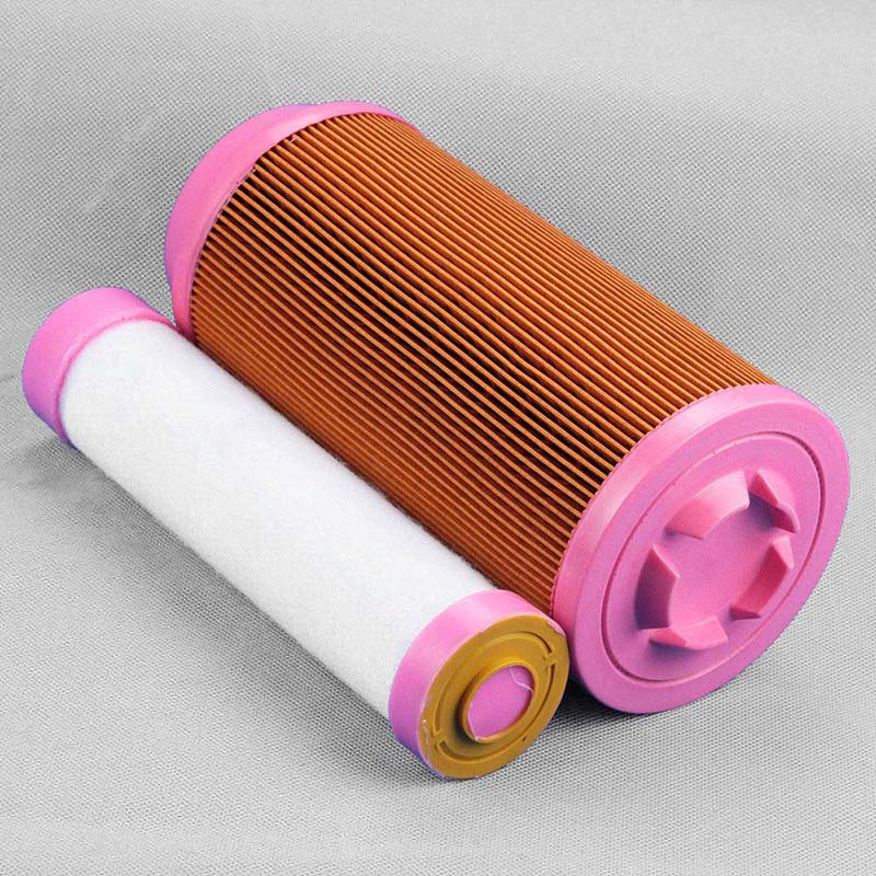2 pcs set Air Filter For Kubota ZD323 ZD326 ZD331 Zero Turn Lawn Mowers K3181-82240 replacement accessories image