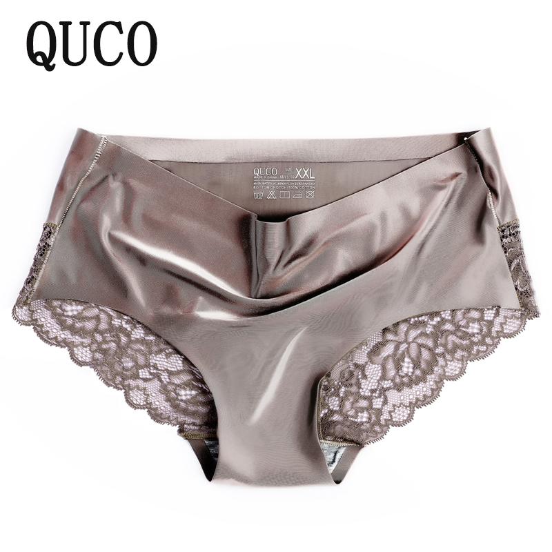 Hot sale QUCO Brand Sexy Panties Seamless Women Underwear Female Comfortable Intimates Fashion Ladies  Briefs Women's Lingerie