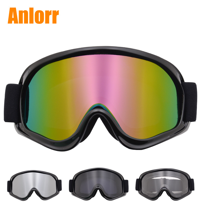 Motorcycle Glasses Off-road Goggles Helmet Eye-protection Goggles Locomotive Knight Goggles Riding Bicycle Glass Windproof Sand
