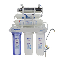 6 Stage Alkaline Ultraviolet Drinking Water Filtration System UV Mineralizing Alkaline Purifier after filter ph of 8.00 9.50
