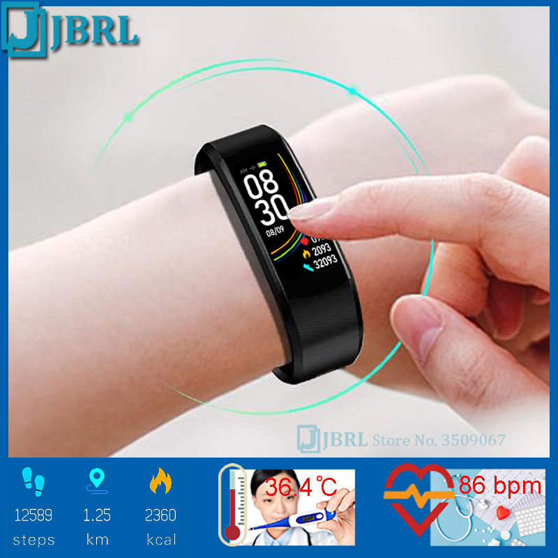 Temperature Watch Children Kids Watches For Girls Boys Wrist Watch Child Students Bluetooth Clock Electronic Digital Wristwatch