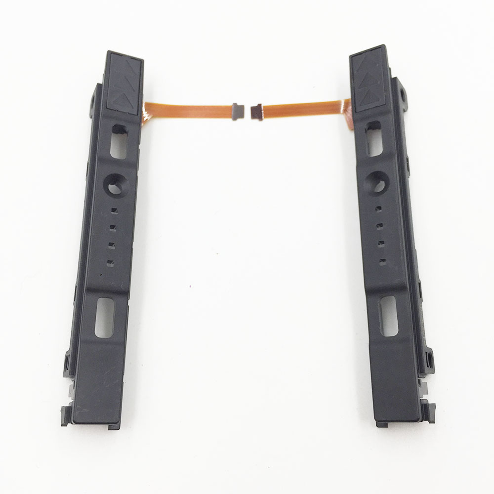 L R LR Slide, deslizadores izquierdo derecho, reemplazo de ferrocarril para Switch NS Joy Con barra de consola para NS Joy-con, controlador de pista deslizante