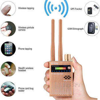 Dual Antenna RF Signal Anti Spy Hidden Camera Anti Candid Camera Detector Eavesdropping Pinhole Audio Bug GPS GSM Device Finder 1