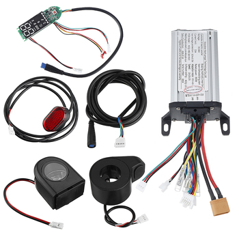 42V 350W 15A Motor Controller+Dashboard+Front/Rear Light For Xiaomi Scooter Electric Bicycle E-bike