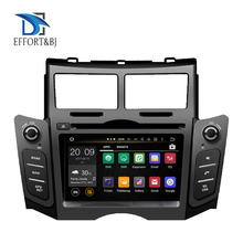 8 Core RAM 4GB Android 9.0 BT WIFI Auto Stereo Bildschirm Radio Für Toyota Yaris 2005-2011 Auto DVD multimedia-Player GPS Navigation