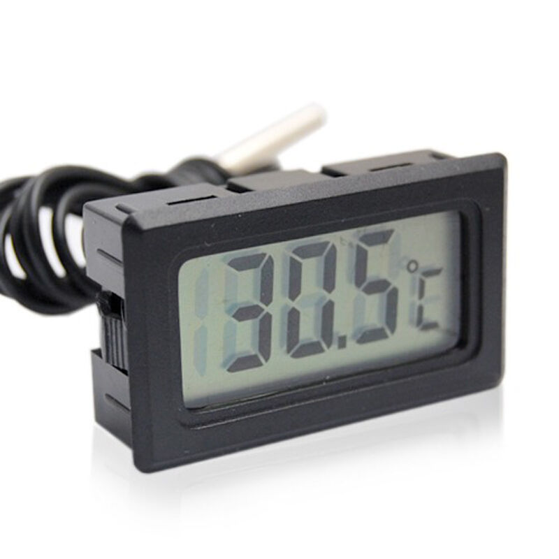 Waterproof LCD Electronic Aquarium Refrigerator Thermometer Digital Outdoor Temperature Measure Tool With Probe Aquatic Products