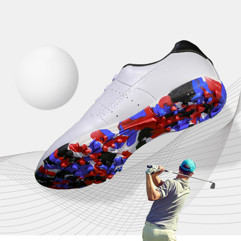 2020 New Professional Golf Shoes For Men Women Kids Lace Up Breathable Training Golf Sneakers Men Sport Anti Slip Sneakers