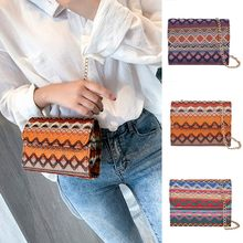 OCARDIAN Damestassen Weave fashion vintage geweven kleuraanpassing messenger bag clutch bag schoudertas Bolsas Feminina Au29(China)