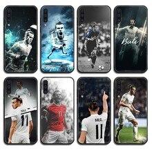 цена на Wales football athlete Gareth Bale art Etui black Phone case For Samsung Galaxy A C Note 3 4 5 6 7 8 10 20 40 50 70 E S Plus Pro