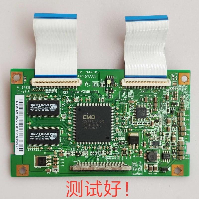 FOR Original Logic Board V315B1-C01 For Philips 32TA2800 Samsung LA32R81B Screen V315B1-L06 V315B1-L01