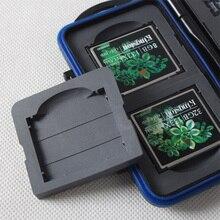 Переносная коробка, жесткий корпус, анти-шок, водонепроницаемый держатель, мульти-сетка, чехол для карт памяти, органайзер, протектор, портативный, большая емкость