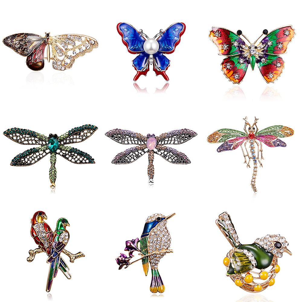 Fashion Insect Locust Brooch Corsage Pins Jewelry Women Banquet Wedding Decor