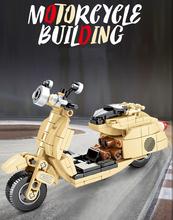 SEMBO Motorcycle Puzzle dla dzieci klocki montażowe klocki Model zabawkowy dla chłopców i dziewcząt prezent 701104 tanie tanio NoEnName_Null CN (pochodzenie) 5-7 lat 8 ~ 13 Lat 14Y Please do not swallow Please operate with your parents!