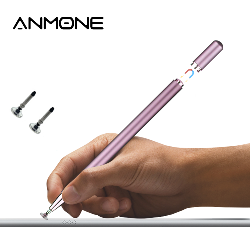 Anmone Tablet Stylus Pen For Samsung Xiaomi Laptop Screen Touch Pen For Phone Drawing Pencil With Magnetic Pen Cap Office Pen