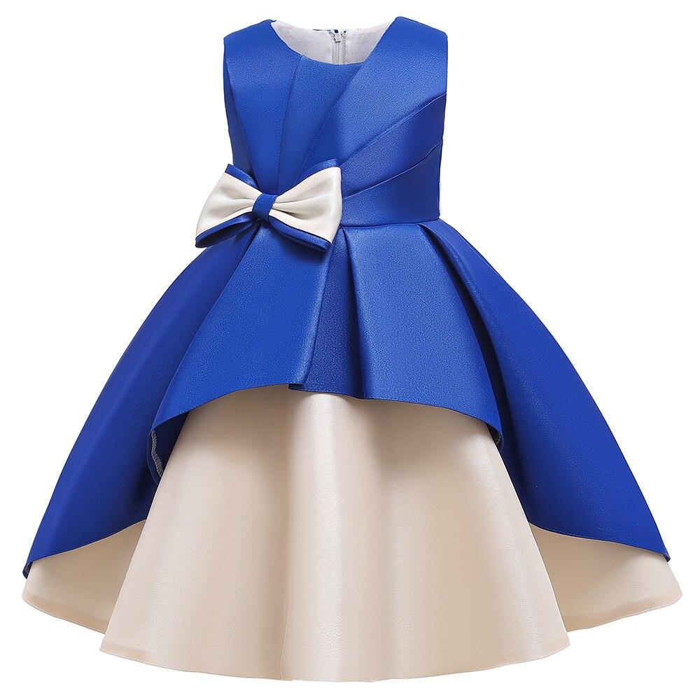 2 Ways Wear Girl Elegant Princess Dress Flower Girl Party Dress For Birthday Kids Girl Ball Gown Wedding Dress