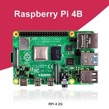 جديد التوت Pi 4 نموذج B 2GB RAM BCM2711 رباعية النواة Cortex-A72 ARM v8 1.5GHz دعم 2.4/5.0 GHz واي فاي بلوتوث 5.0