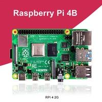 New Raspberry Pi 4 Model B 2GB RAM BCM2711 Quad core Cortex A72 ARM v8 1.5GHz Support 2.4/5.0 GHz WIFI Bluetooth 5.0