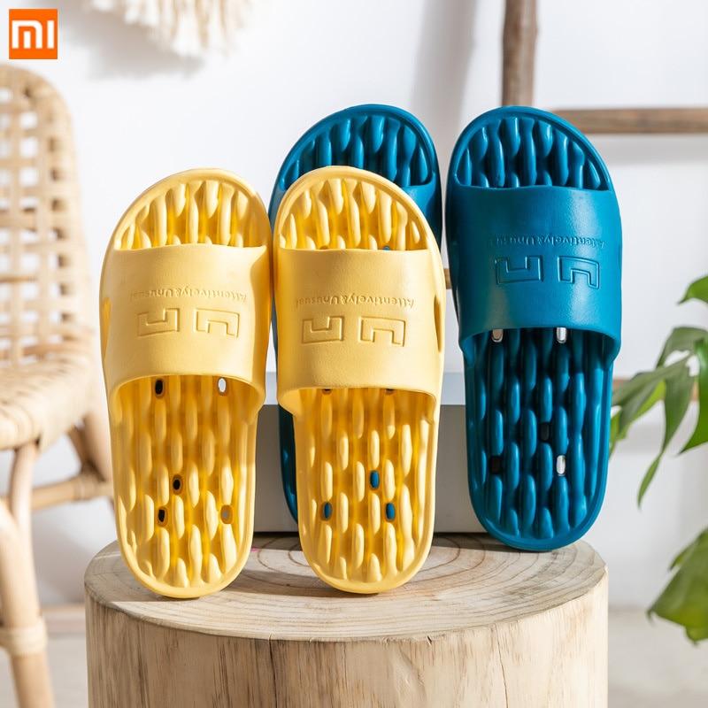 2020 Xiaomi EVA Slippers Women Summer Soft Beach Casual Shoes Men Bathroom Shower Flip Flops Female Indoor Home Pool Slipper