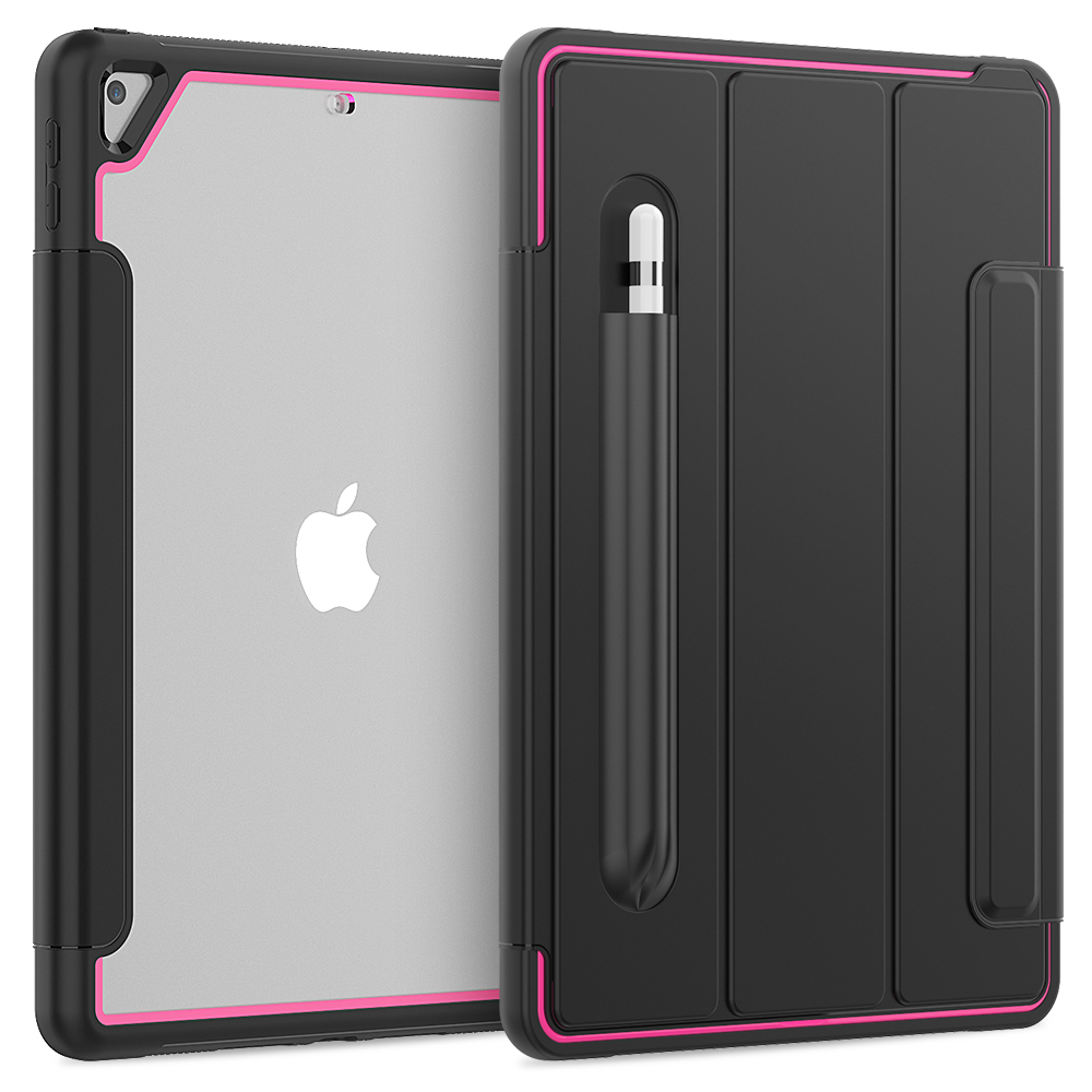 Rose Green Smart Case For iPad 10 2 inch 2019 7th Gen 8th Generation Auto Sleep Wake Stand