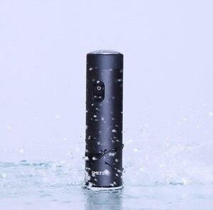 Image 3 - Xiaomi Smate חשמלי מכונת גילוח Flex גילוח נטענת יבש רטוב גילוח מכונת עבור גברים IPX7 רחיץ שלוש עלה להב נוח נקי