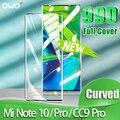 Изогнутая защитная пленка 99D для Xiaomi mi 10 Pro, закаленное стекло A3 Lite CC9 Note 10 Pro, защитная пленка для mi 9 SE 8 Lite, стекло