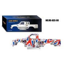 1/10 RC HG ABS пластиковый корпус автомобиля для P407 4*4 пикап DIY Модель гоночный Гусеничный