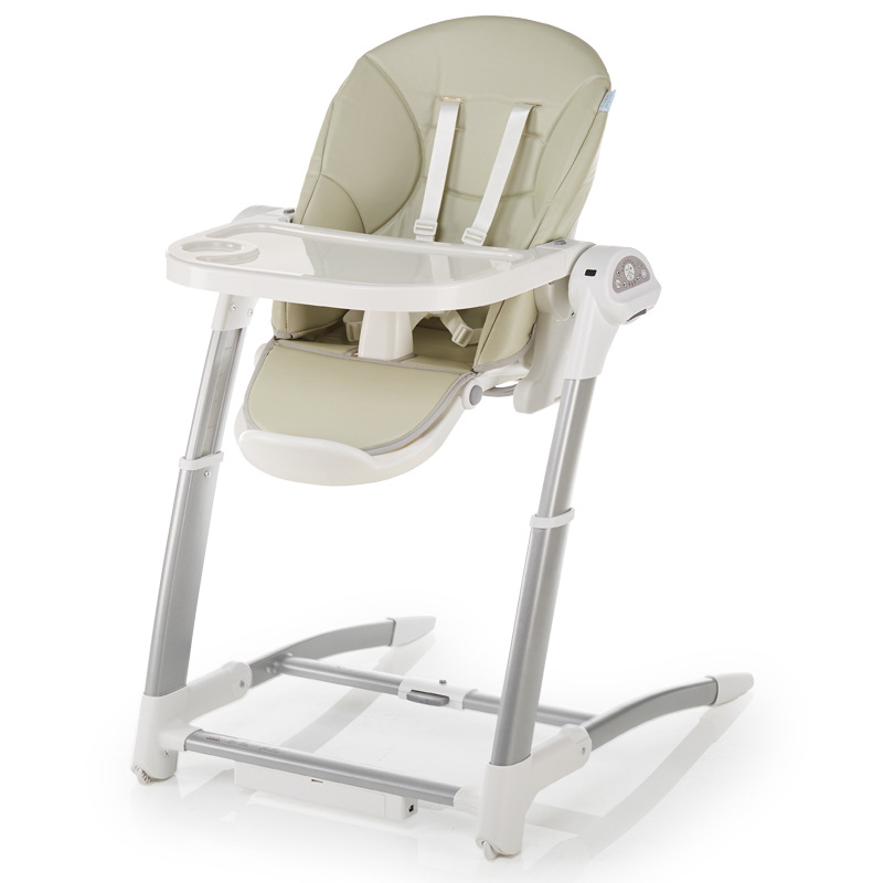 Child Dining Chair Electric Coax Baby Artifact Baby Rocking Blue Chair Child Dining Chair Multifunctional Baby Rocking Chair