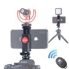 Ulanzi ST-06 камера горячий башмак телефон штатив крепление 360 Вращение Холодный башмак монитор телефон DSLR Крепление Адаптер для карданного микрофона светодиодный светильник