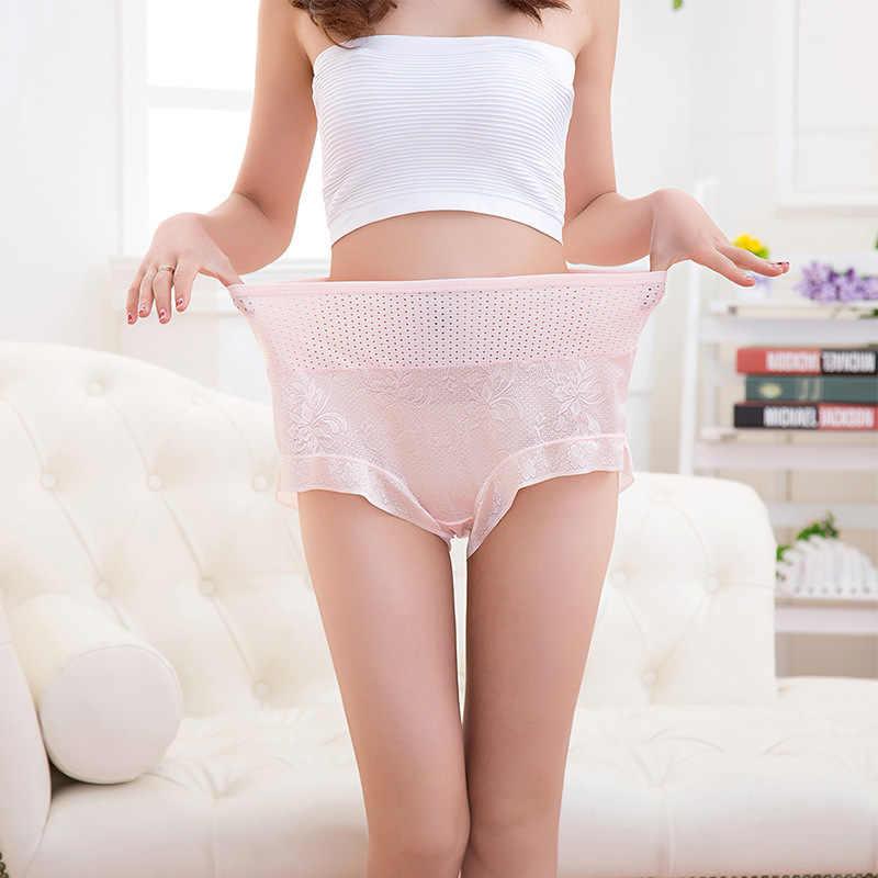 Neue Ankunft Frauen schriftsätze der reizvolle wäsche Plus größe 7XL große größe Atmungsaktiv Modal hohl unterwäsche frauen höschen